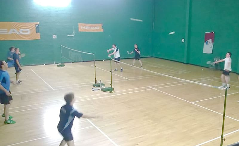 Galway Social Badminton Club Nights