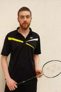 Declan Bennett Badminton Coach Galway