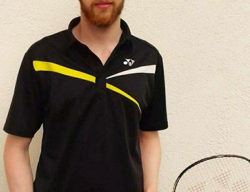 New Badminton Coach Declan Bennett