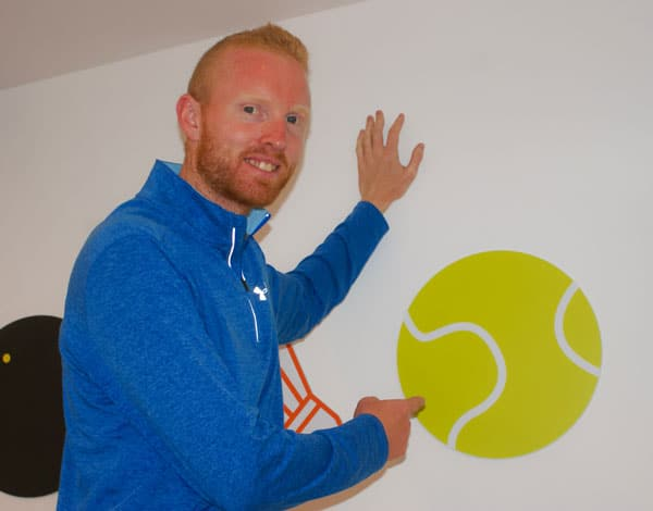 Mark Smyth Tennis Coach Galway