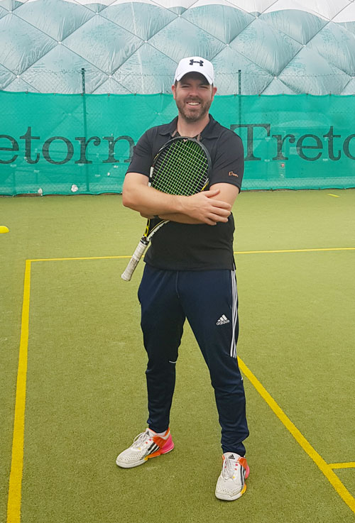 Alan McCormack Tennis Coach Galway Lawn