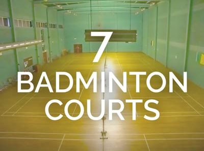 Galway Badminton Courts Facilities