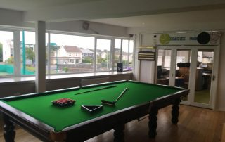 Galway Lawn Tennis Club Snooker Table