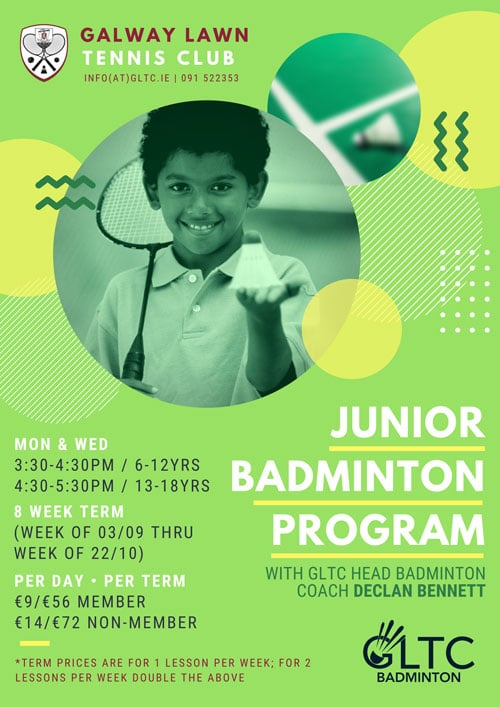 Junior Badminton Coaching Program