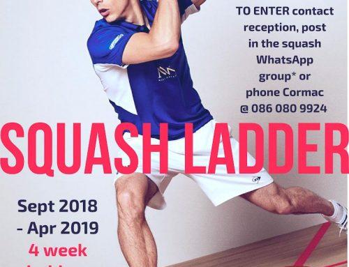 Squash Ladder