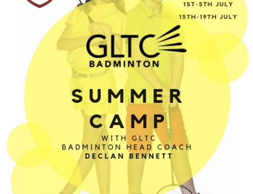 BADMINTON SUMMER CAMPS 2019